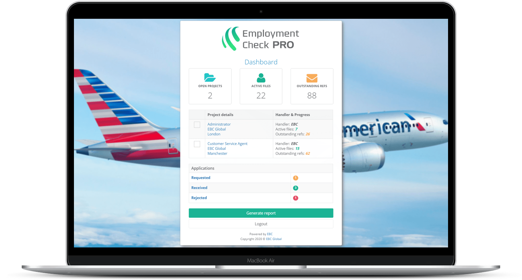 Pro - Employment Background Check Software by EBC Global