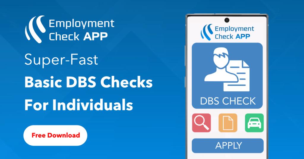 Basic DBS Check - EBC Global