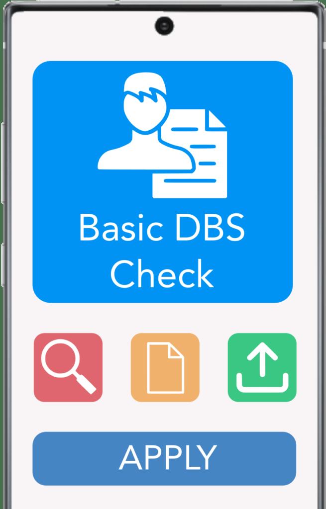 Basic DBS Check - Employment Check App