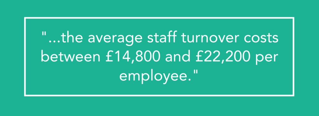 Average Cost of Staff Turnover